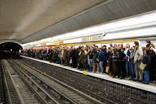 Paris Cataphiles head underground