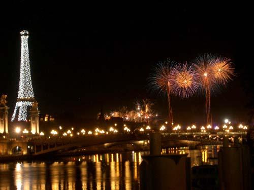 Bastille Day fireworks at Trocadéro