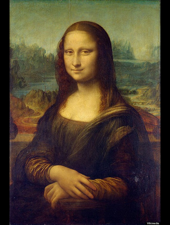 The Louvre Mona Lisa